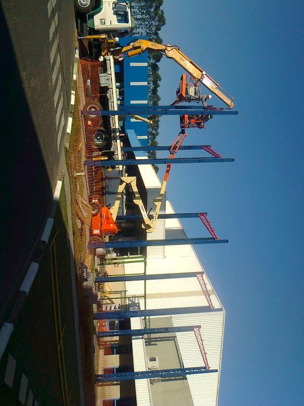 Estruturas metalicas para construção civil